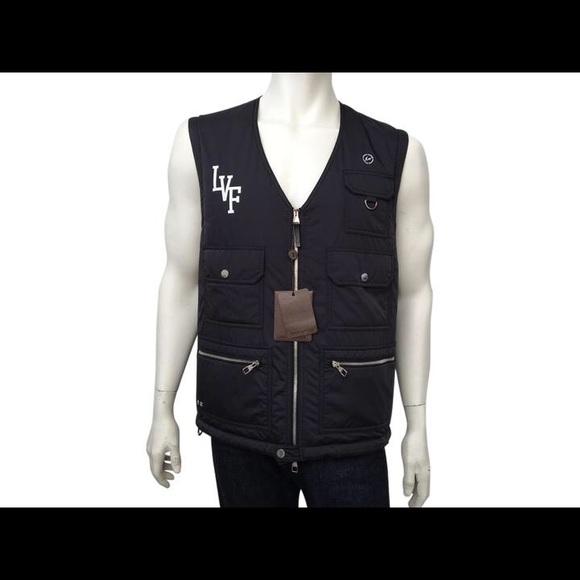 6384c27a6c Louis Vuitton Jackets & Coats | New Authentic X Fragment Vest 52 L ...